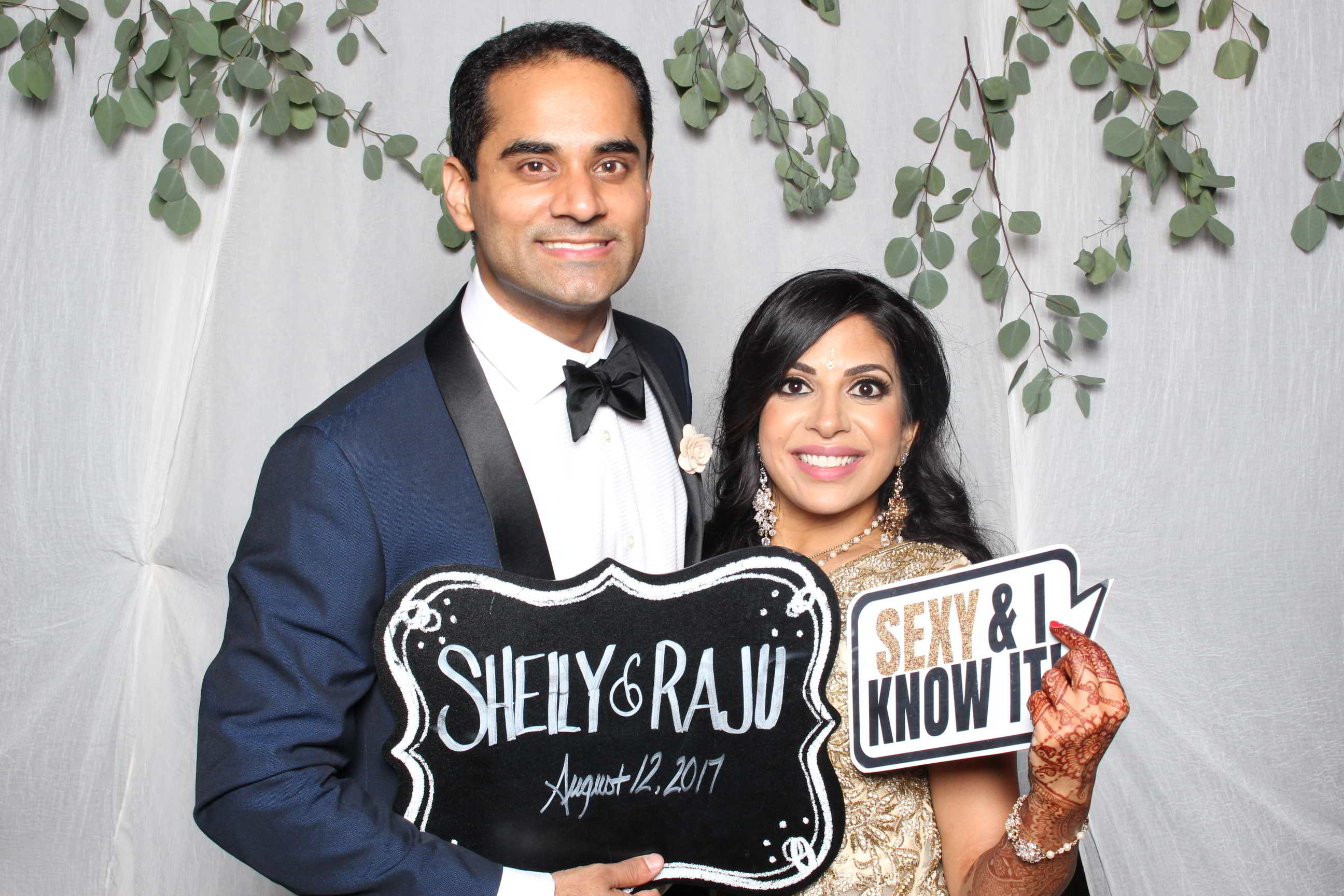 Indian Wedding Photo Booth