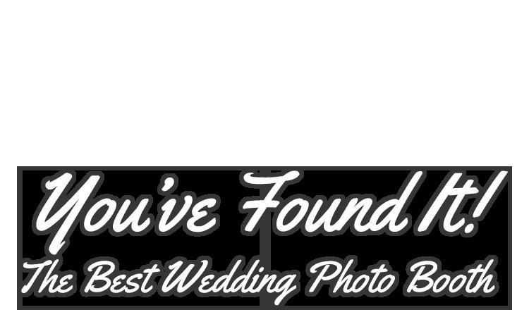best wedding photo booth