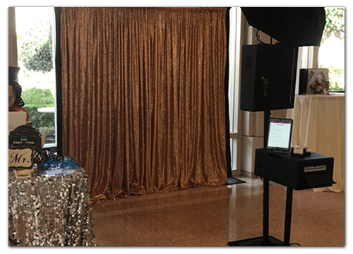 Our Open Air Wedding Photo Booth Rentals in Orange, CA