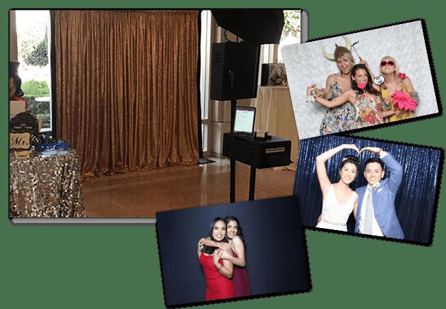 Open Air Wedding Photo Booth
