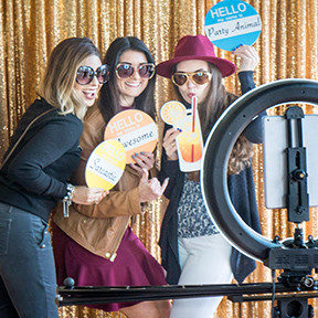 wedding photo booth orange county